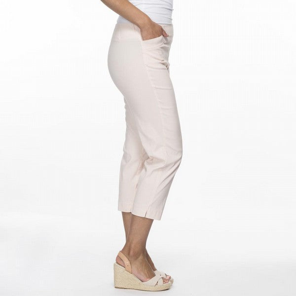 Threadz 3/4 Pants Women Soft Pink | Lyn Rose Boutique
