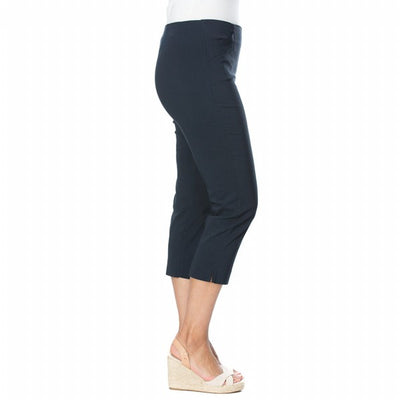 Threadz 3/4 Pants Women Navy | Lyn Rose Boutique