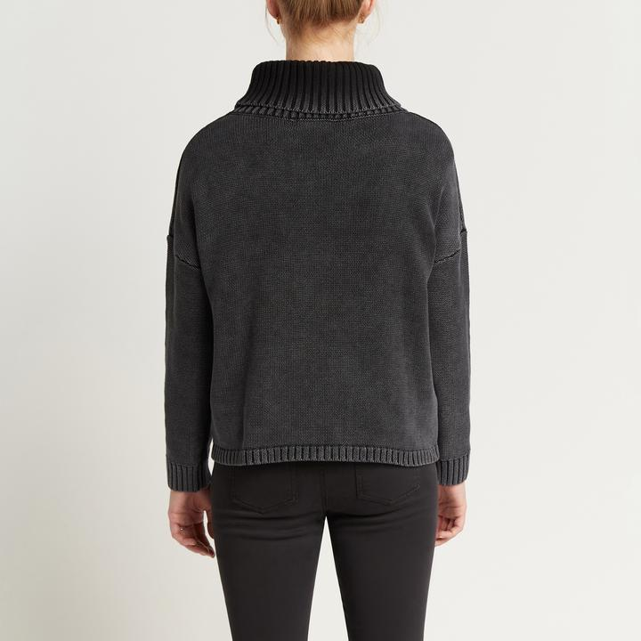 Aria Roll Neck - Washed Ash