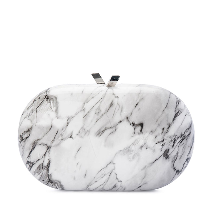 Quartz - Oval Clutch