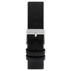TAKODA - Leather Watch Strap - Black