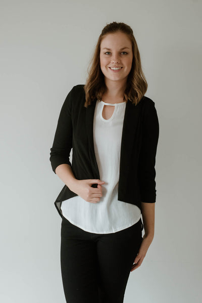 Chiffon Women Blazer | Lyn Rose Boutique
