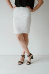Lacey Skirt Women White | Lyn Rose Boutique