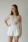 Aria Skort White Women | Lyn Rose Boutique