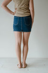 Maxim Denim Skirt Mid Wash Women | Lyn Rose Boutique