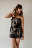 Cleo Sequin Playsuit