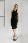 Amanda Dress Black Women | Lyn Rose Boutique