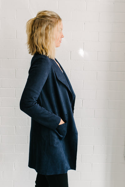 Willow  Jacket - Navy
