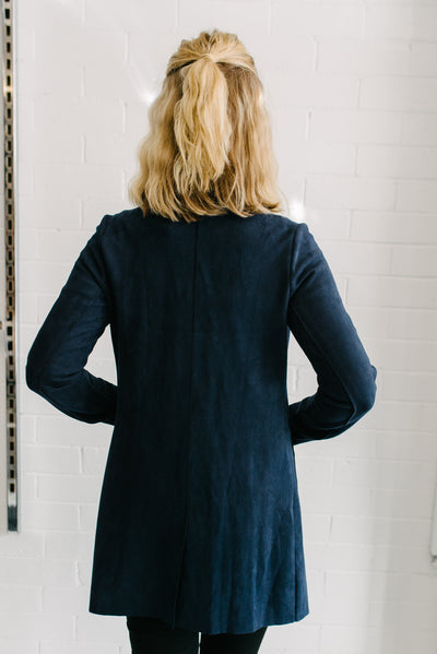 Willow Jacket Women Navy | Lyn Rose Boutique