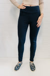 Threadz Ponti Pants Women Navy | Lyn Rose Boutique