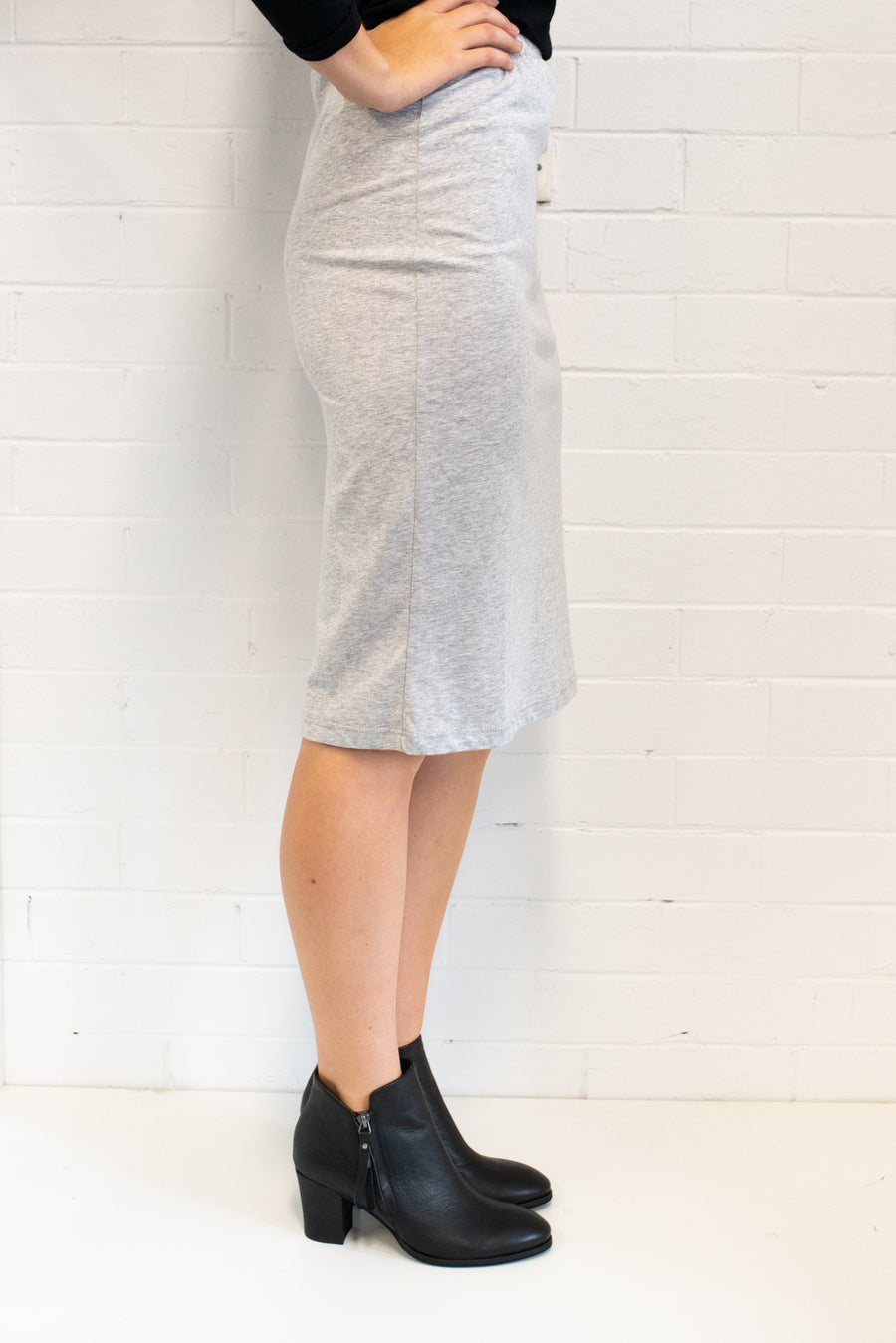 Grey Marle Skirt Women One Size | Lyn Rose Boutique