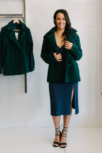 Load image into Gallery viewer, Jacqueline Faux Fur Coat - Emerald