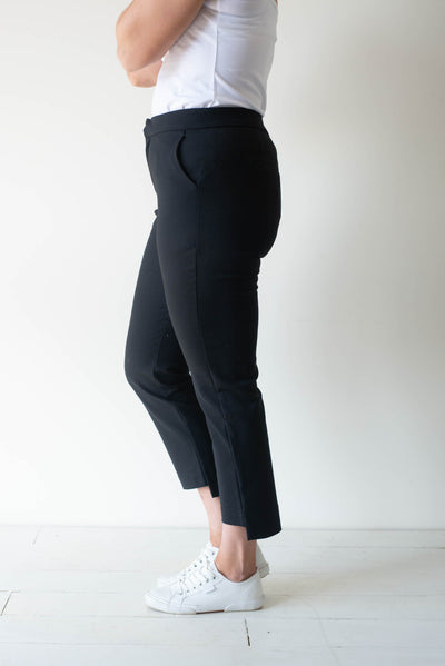 Wren Dress Pants Women Black | Lyn Rose Boutique