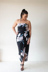 Freeda Dress-Black blooms