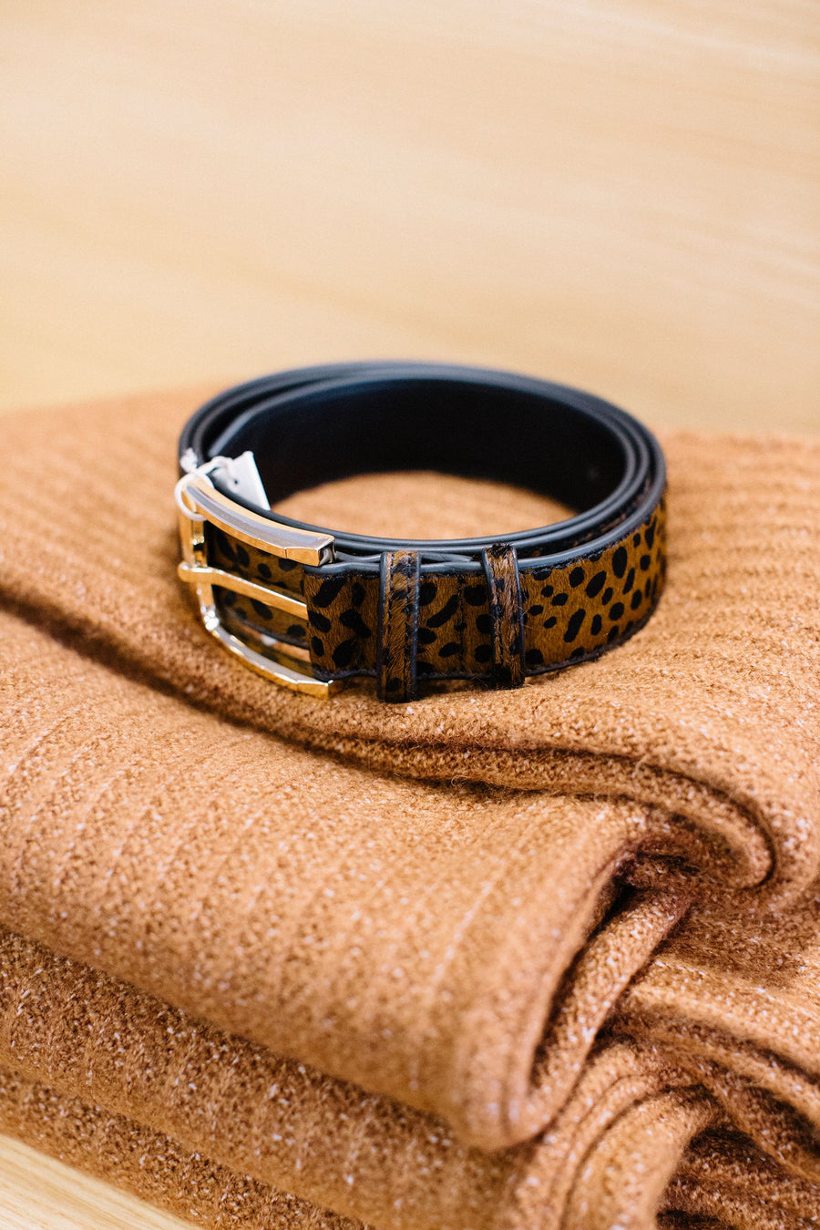Hide Women Belt Animal | Lyn Rose Boutique