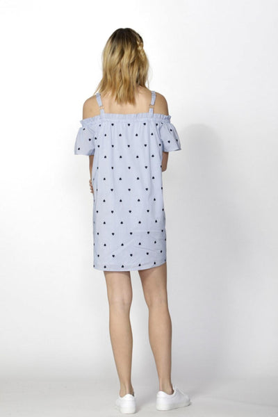 Hearts On The Line Dress