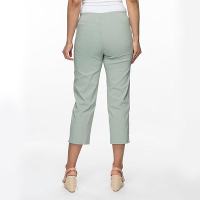 Threadz 3/4 Pants Women Khaki | Lyn Rose Boutique