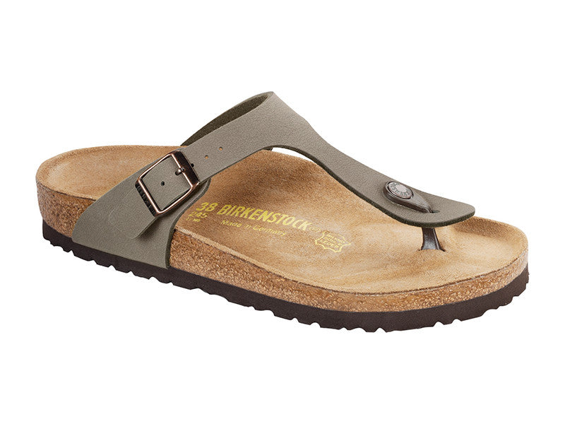 Birkenstock Gizeh Stone Women | Lyn Rose Boutique