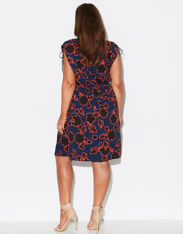 Spring Floral Women Dress | Lyn Rose Boutique