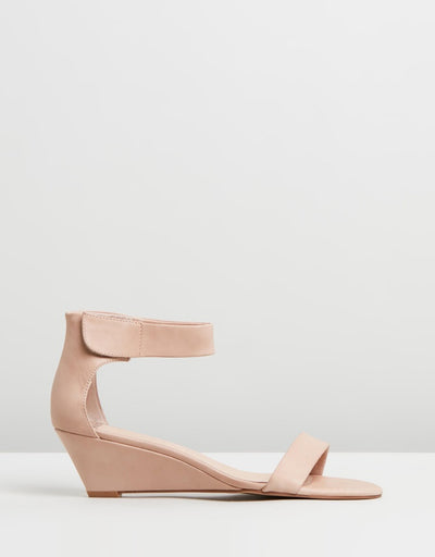 Marsy Wedge Women Latte | Lyn Rose Boutique