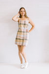 Rainbow Check Dress Women | Lyn Rose Boutique