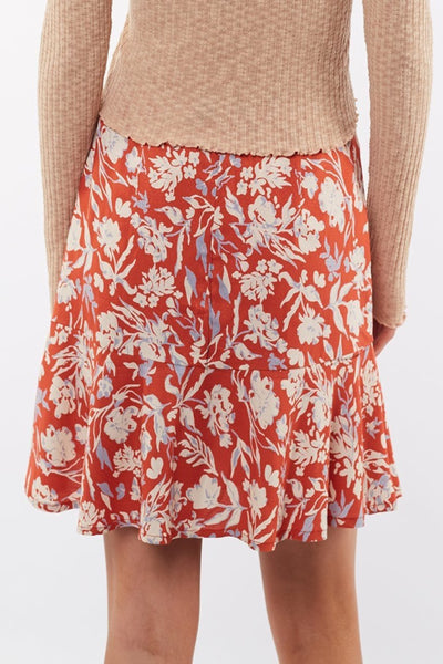 Floral Fields Mini Skirt | Lyn Rose Boutique