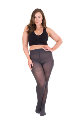 Denier Tights Shadow Stunning Size 22/24