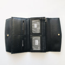 Load image into Gallery viewer, Pierre Cardin Double Purse - BLACK or NAVY