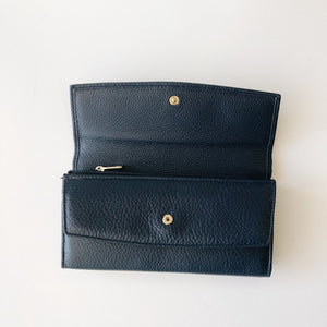 Pierre Cardin Double Purse - BLACK or NAVY