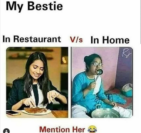 Share with bestie 🤣