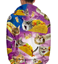 Load image into Gallery viewer, https://www.amazon.com/Leapparel-Graphic-Sweatshirts-Pullover-Pockets/dp/B07WVZFYG5/ref=sr_1_4?dchild=1&keywords=cat%2Btaco%2Bhoodie&qid=1599061475&s=apparel&sr=1-4&th=1