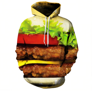 This is a junk food hoodie for men who has a passion for junk food clothing