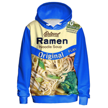 Load image into Gallery viewer, Come grab your original noodle soup ramen hoodie!