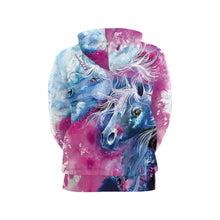 Load image into Gallery viewer, It is a printed hoodie which makes it super adorable and looks cute.