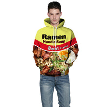 Load image into Gallery viewer, Young boys and girls who wants to look cool in custom hoodies and have love for ramen and junkie food must get  a ramen hoodies for them.