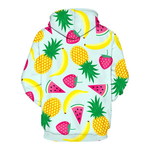 The fruit hoodie is especially designed as hoodies for girls on which they will look so adorable and cute.