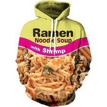 Load image into Gallery viewer, Shrimp Ramen hoodie is a pullover hoodie which looks super cool and makes you stand out from the crowd.