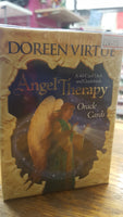 ANGEL THERAPY ORACKE CARDS BY DOREEN VIRTUE