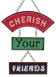 metal-hanging-sign-cherish-your-friends-gift-for-him-or-her-from-legacy-gifts-and-accessories