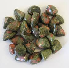 unakite-crystal-healing-tumbled-stone-from-legacy gifts and accessories