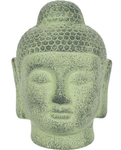 Buddha Head - Ornament - Green - Terracotta - from - Legacy Gifts & Accessories