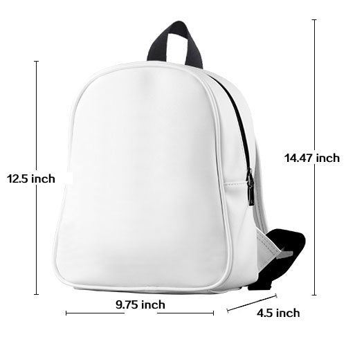 Preschool Leather backpack sizing chart