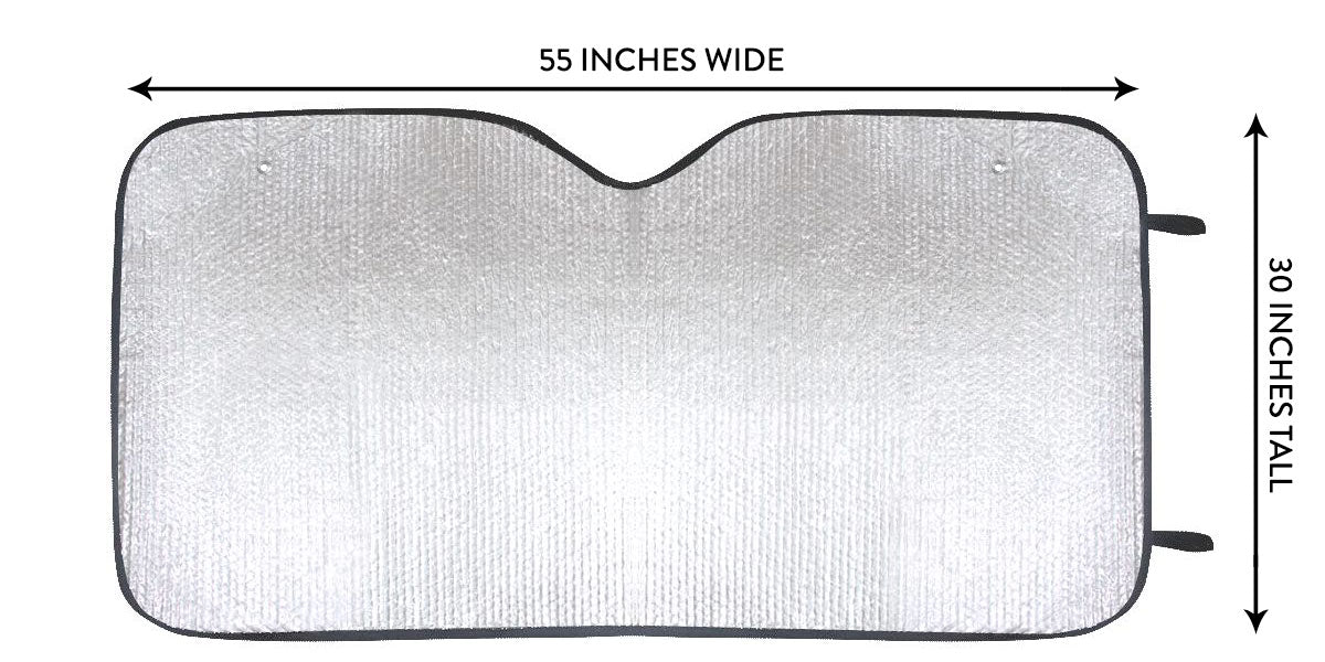 Car Sun Shade Sizing Chart
