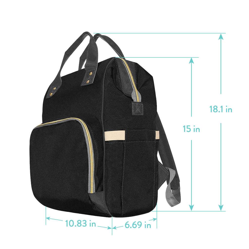 Diaper bag sizing chart
