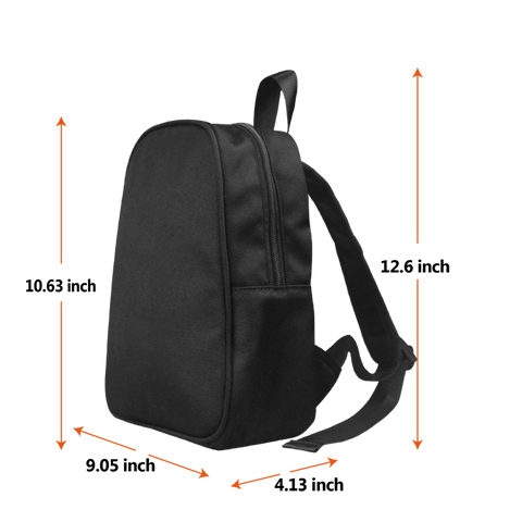 Small backpack sizing chart