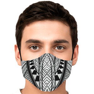 Guam CNMI Chamorro Modern Tribal Face Mask for Youth and Adults