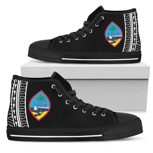 Tribal Guam Seal High Top Shoe