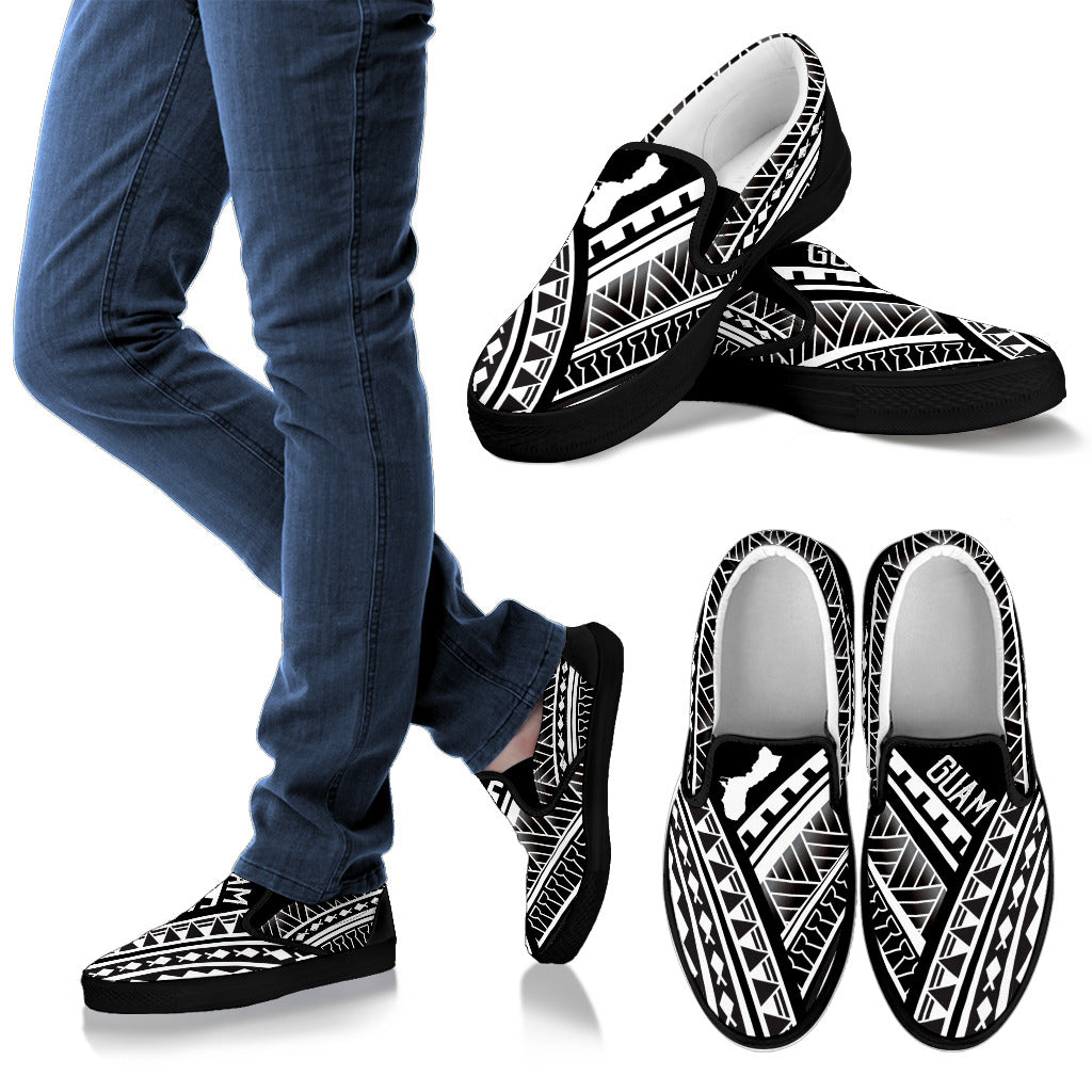 Guam Tribal Design Slip On Shoe