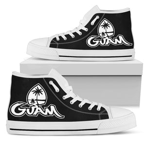 Guam Seal Tagged High Top Shoe