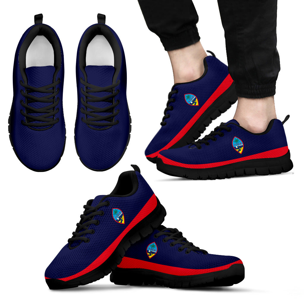 Guam Flag Sneakers Running Shoes